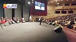 رقصیدن دختران مقابل نجفی در مراسم روز زن!