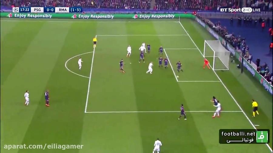 خلاصه بازی پاری سن ژرمن-رئال مادرید