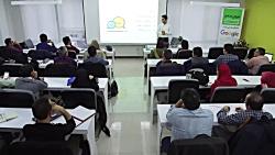 جلسه اختتامیه نهمین دوره آموزشی وبمستران هوشمند