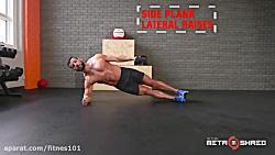 21 تمرین ورزشی برای چربی...