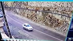 در جاده چالوس یدک کشها گازوئیل میریزند تا تصادف شود