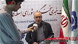 مصاحبه اکبرسلیم نژادرئ...