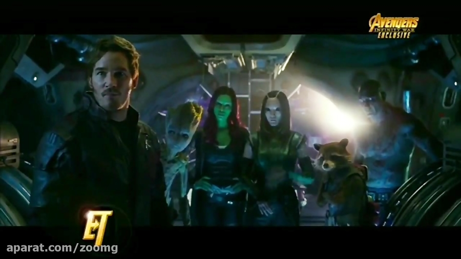 ویدیو پشت صحنه فیلم Avengers: Infinity War - زومجی
