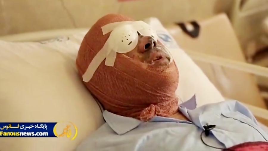 مصاحبه با اولین مجروح نیروی انتظامی در چهارشنبه سوری
