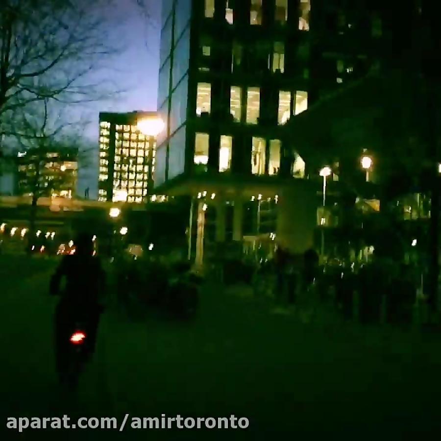 چگونه از تورنتو به آمستردام بروید