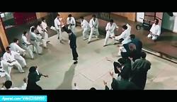 سکانس اکشن مبارزه رزمی در فیلم بروسلی