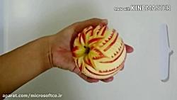آموزش میوه آرایی - طرح گ...
