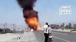 انفجار وحشتناک ماشین ح...