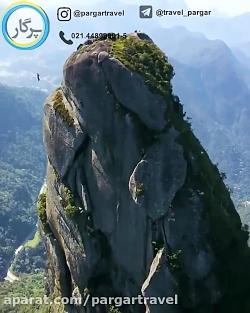 طبیعت زیبای کوهستان بر...