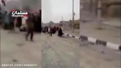 انفجار وحشتناک خودروی ...