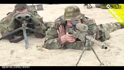 لحظه تست RPG در ارتش آلما...