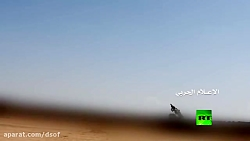 لحظه انهدام جنگنده اف 15...