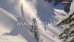 صحنه های جذاب و هیجان انگیز اسکی روی برف