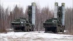 آزمایش موشک اس ۳۰۰ در ی...
