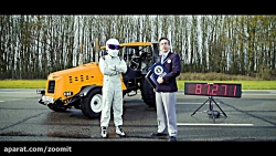 The Stig Breaks World Record in Modified Tractor on Top