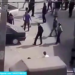 حادثه دعوا درگیری فجیع خیابانی