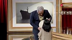 غافلگیری مهران مدیری توسط دختر بچه سمج!