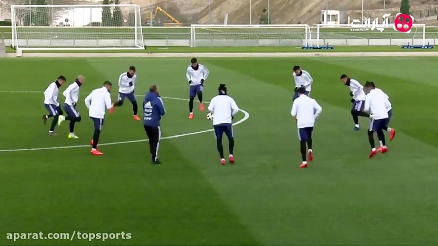 تمرین امروز تیم ملی آرژانتین