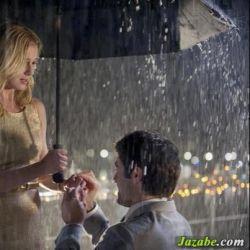 باران چه خوشبخت است……. از آن بالا همیشه عشق بازی دیده است