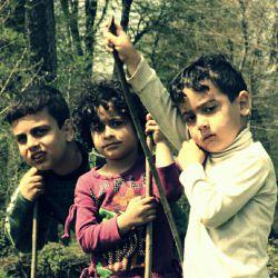 بچه های جنگل...