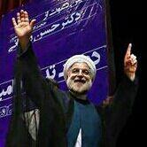 نگاه کنید رییس جمهورمونم پرسپولیسیه روحانی مچکریم