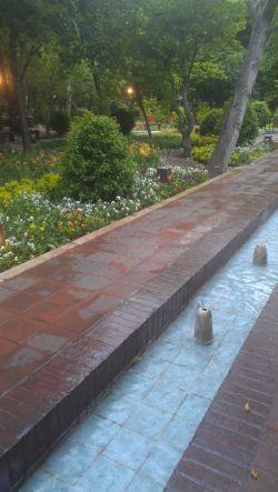 باغ ایرانی- تهران- ده ونک- عکس از خودم
