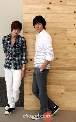لی مین هو وکیم هیون جونگ
