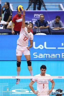 پیروزی 3 بر 0 والیبال ایران در مقابل روسیه تبریک میگم.................فقط قیافه شهرامو داشته باش تو بازیه امروز
