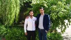 بهار 94 - دانشگاه فرهنگیان اراک - مرتضی منصوری و حامد احمدی