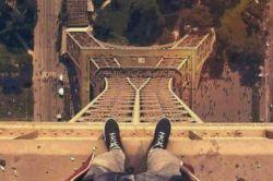 من بالای برج
