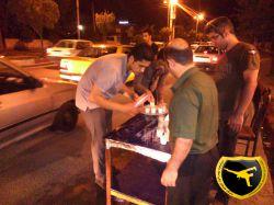 کیک بوکسینگ مازندران بال استاد سلمان زاده _ مراسم شیر دهی شب 21 ماه مبارک رمضان 94