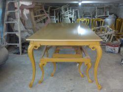میز نهار خوری چوب گردو