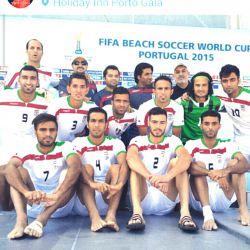 به افتخار تیم فوتبال ساحلی ایران