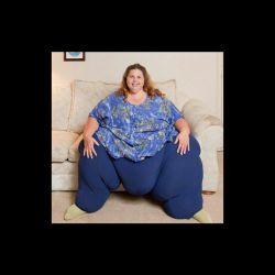 چاق ترین زن دنیا