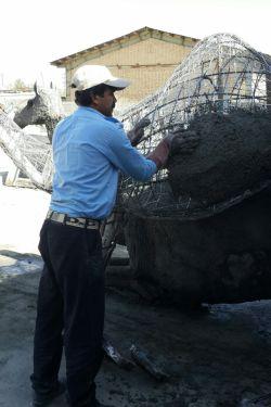 در حال ساخت شتر