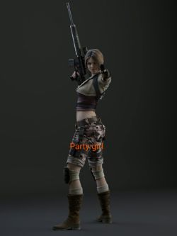 Resident evil ORC party girl