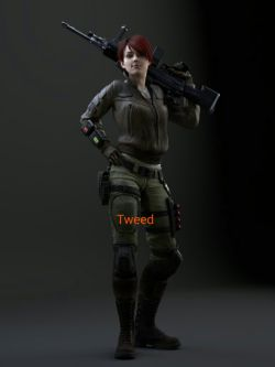 Resident evil ORC tweed