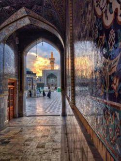 چقدر در حرمت ، در به دری می چسبد ...