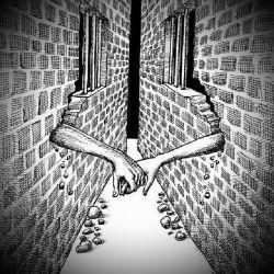 همیشه اسیر دیوارهایی هستیم كه از نادانی های خود آن را ساخته ایم