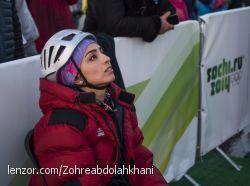 زهره عبد اله خانی- المپیک زمستانی سوچی 2014