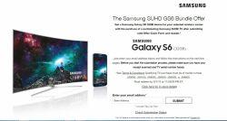اگر در آمریکا زندگی می کنید و به دنبال خرید یک تلویزیون جدید و یا ارتقای تلویزیون هستید، سامسونگ پیشنهاد ما به شماست. سامسونگ پیشنهاد جدیدی در آمریکا ارائه داده است و آن هم این است که با خرید هر دستگاه تلویزیون SUHD یا سوپر الترا اچ دی سامسونگ با کیفیت صفحه ی ۴K، یک عدد گوشی هوشمند گلکسی اس ۶ مدل ۳۲ گیگابایتی دریافت کنید. http://phonezone.ir/?p=1651