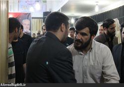 کربلایی حسین عینی فرد حاج علیرضا بیگدلی
