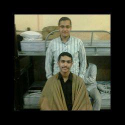 من و محمد حسین در حوزه.
