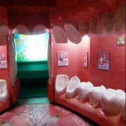 خونه ای که شبیه دندانه