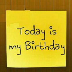 Good morning world.... yeaaaaaah today is my 23th birthday