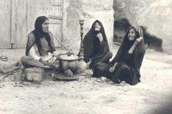 باقله فروشی برازجان درسال ۱۳۶۵