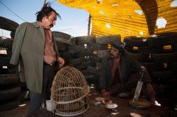 سیامک صفری در نمایی از سریال «دندون طلا» به کارگردانی داوود میرباقری