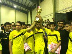 نایب قهرمانی تیم درخشان در جام رمضان 94