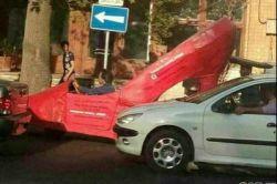 خودروی پاشنه بلند در تهران