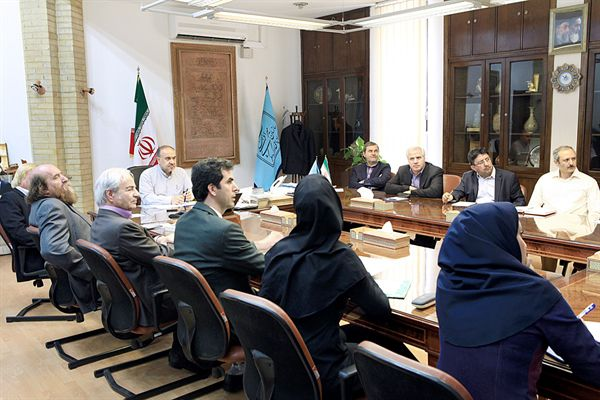 نشست شورای ثبت آثار تاریخی ،فرهنگی - 6 تیر 94